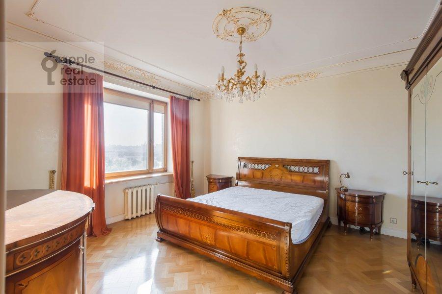 Bedroom of the 3-room apartment at Bol'shaya Yakimanka 26