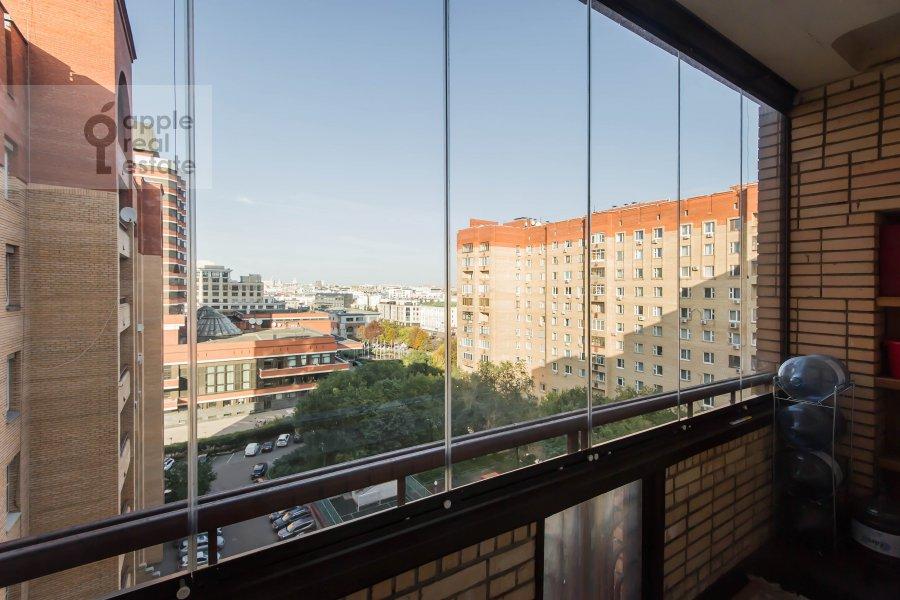 Balcony / Terrace / Loggia of the 3-room apartment at Bol'shaya Yakimanka 26