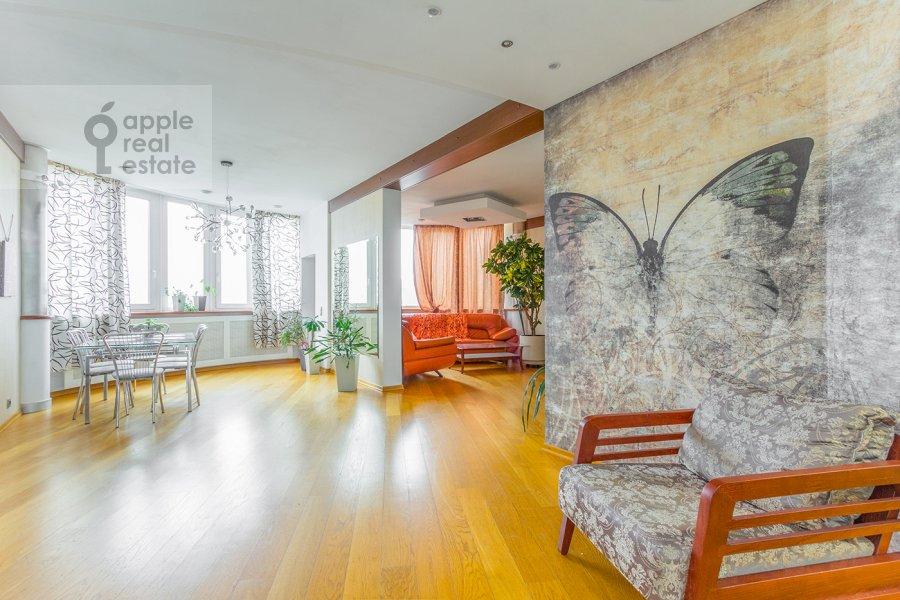 Кухня в 4-комнатной квартире по адресу Карамышевская набережная 62к1
