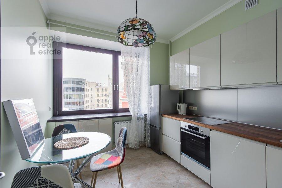 Кухня в 2-комнатной квартире по адресу Большой Афанасьевский переулок 25