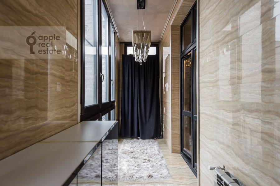 Balcony / Terrace / Loggia of the 4-room apartment at Podsosenskiy pereulok 3