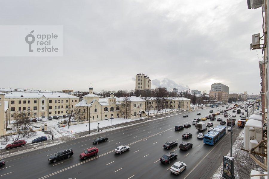 Вид из окна в 3-комнатной квартире по адресу Ленинский проспект 20