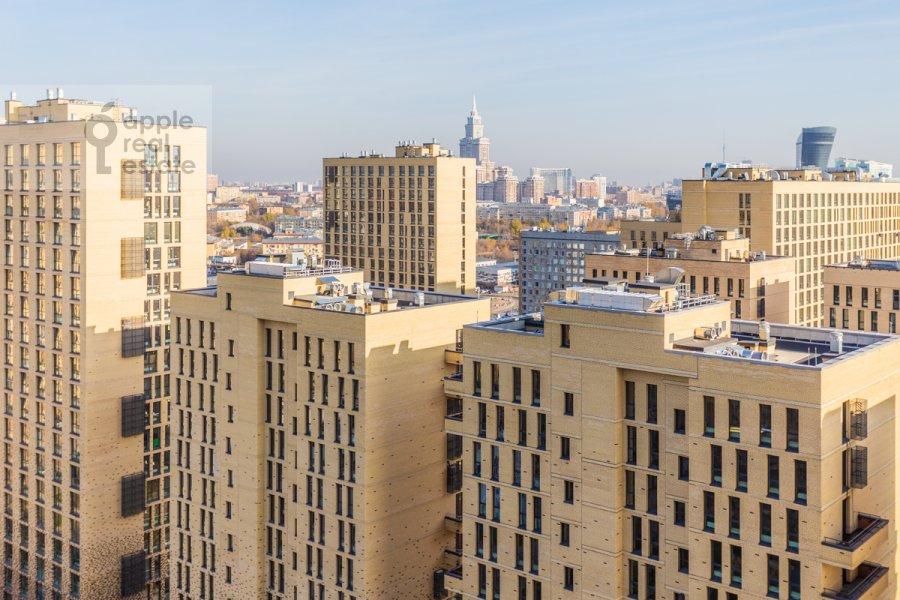 View from the window of the 4-room apartment at 3-ya Khoroshevskaya ulitsa 25k4