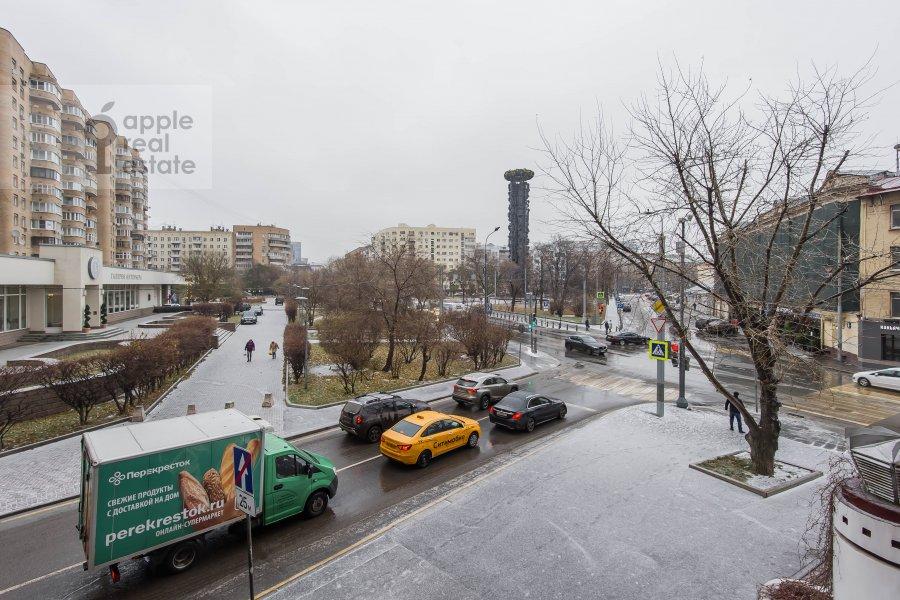 Вид из окна в 3-комнатной квартире по адресу Большая Грузинская улица 37С2