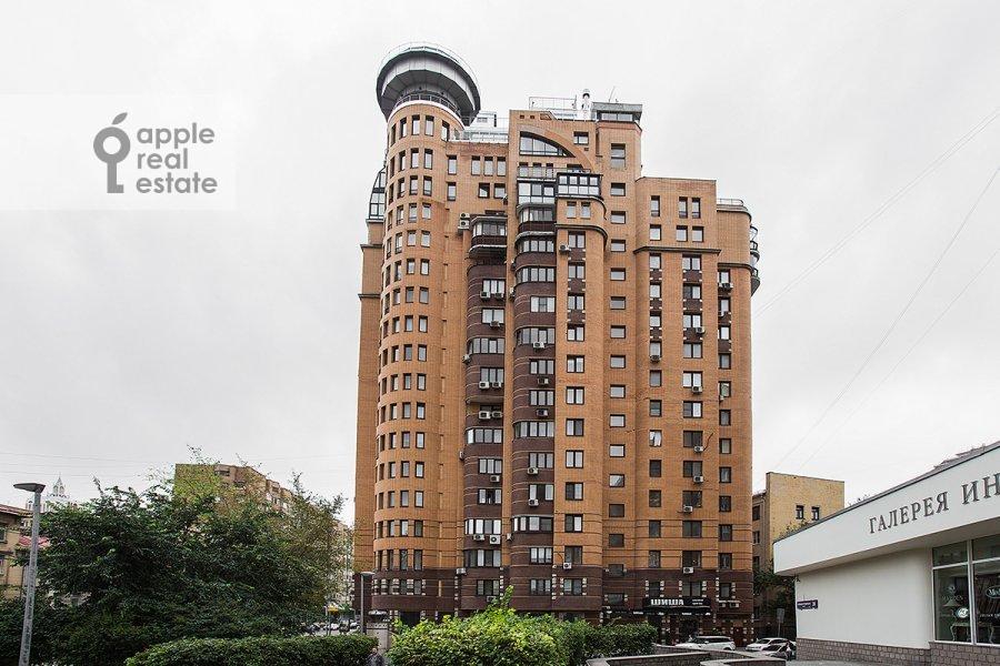 Фото дома 3-комнатной квартиры по адресу Большая Грузинская улица 37С2
