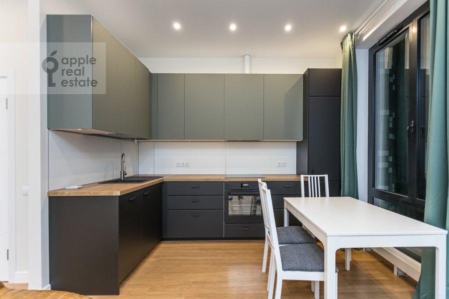 Кухня в 3-комнатной квартире по адресу Ходынская улица 2