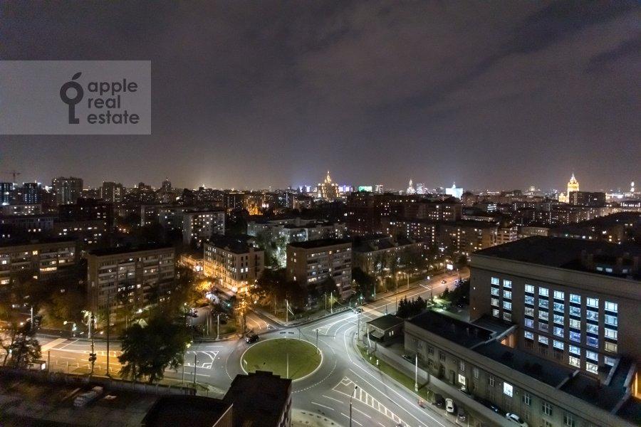Вид из окна в 3-комнатной квартире по адресу Ходынская улица 2