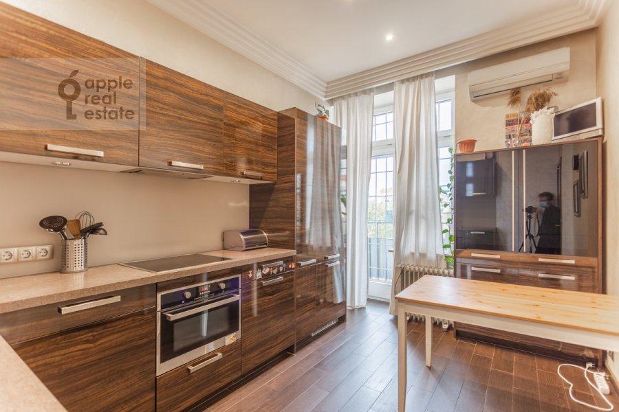 Kitchen of the 3-room apartment at Frunzenskaya naberezhnaya 46