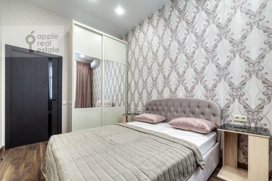 Bedroom of the 4-room apartment at Nikitskiy bul'var 12