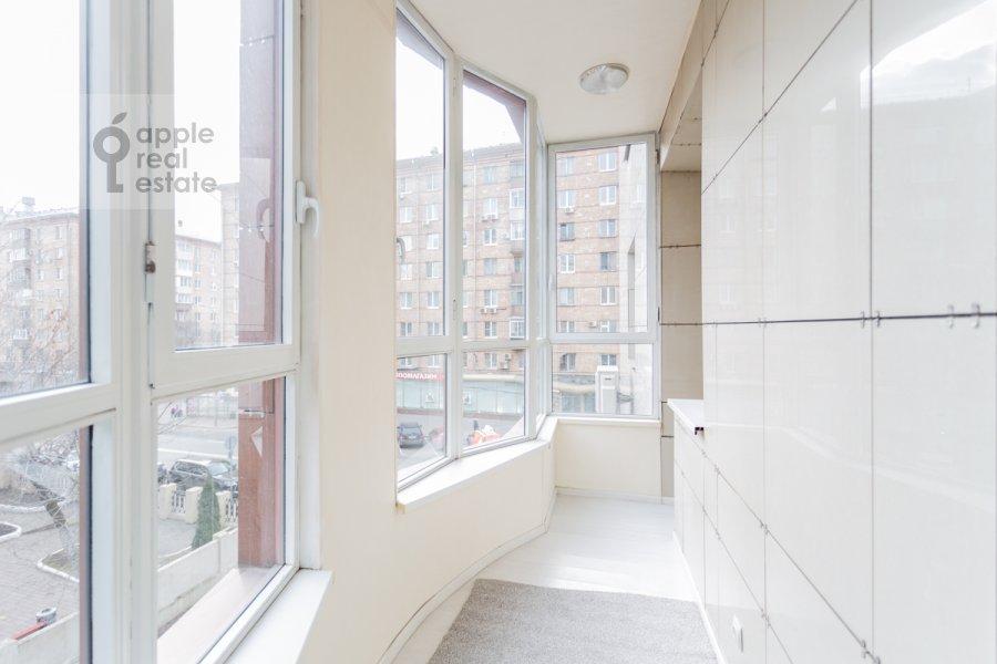 Balcony / Terrace / Loggia of the 3-room apartment at ulitsa Presnenskiy Val 16S3