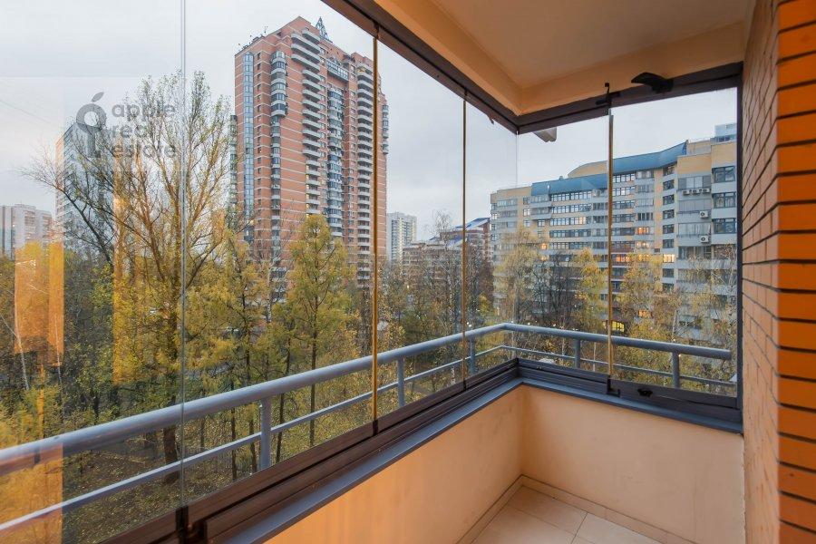 Balcony / Terrace / Loggia of the 2-room apartment at Leninskiy prospekt 106k1