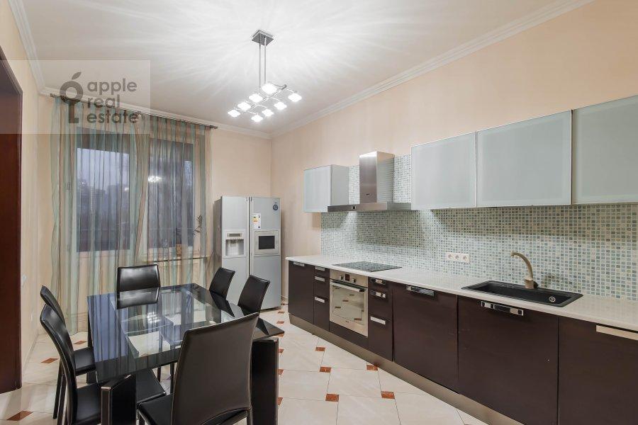 Kitchen of the 2-room apartment at Leninskiy prospekt 106k1