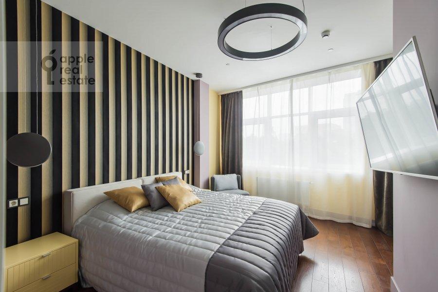 Спальня в 2-комнатной квартире по адресу Новый Арбат 32