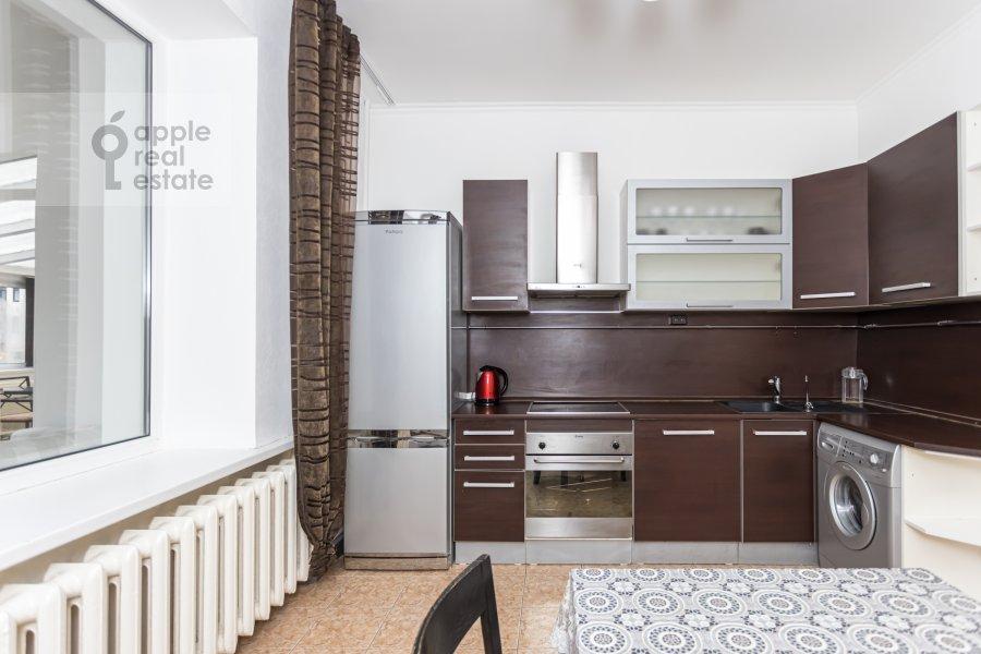 Kitchen of the 2-room apartment at Lesnaya ulitsa 4s1