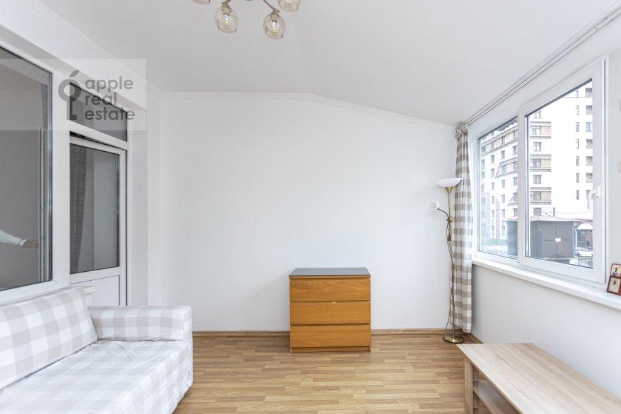 Balcony / Terrace / Loggia of the 2-room apartment at Lesnaya ulitsa 4s1