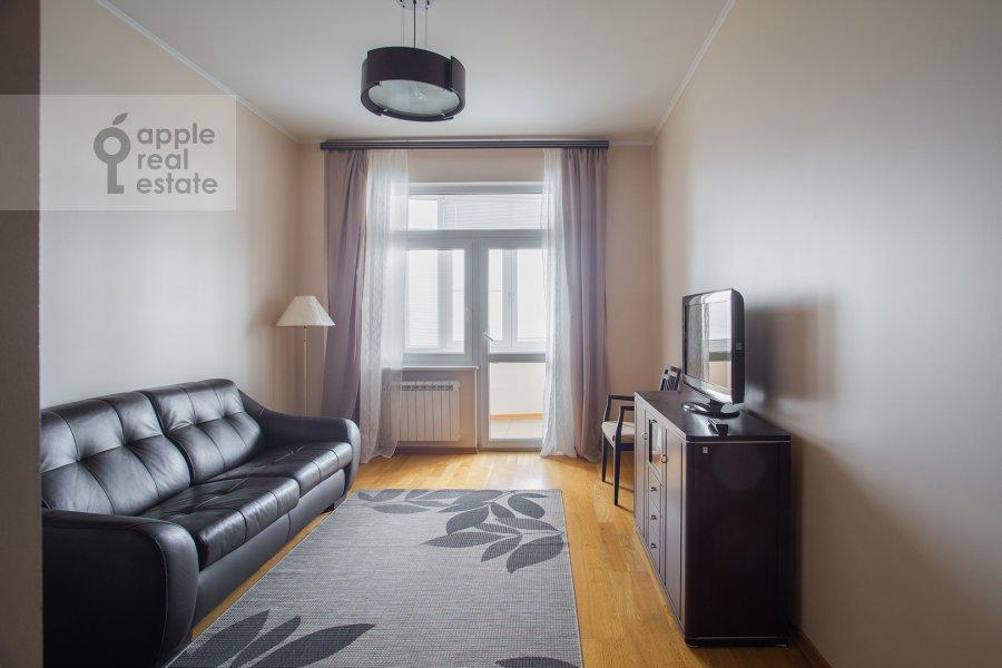 Children's room / Cabinet of the 3-room apartment at Krylatskie Kholmy ul. 33k1