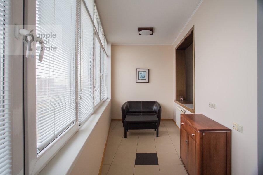 Balcony / Terrace / Loggia of the 3-room apartment at Krylatskie Kholmy ul. 33k1