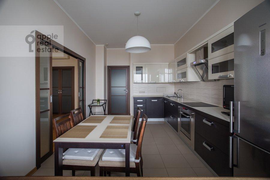 Kitchen of the 3-room apartment at Krylatskie Kholmy ul. 33k1