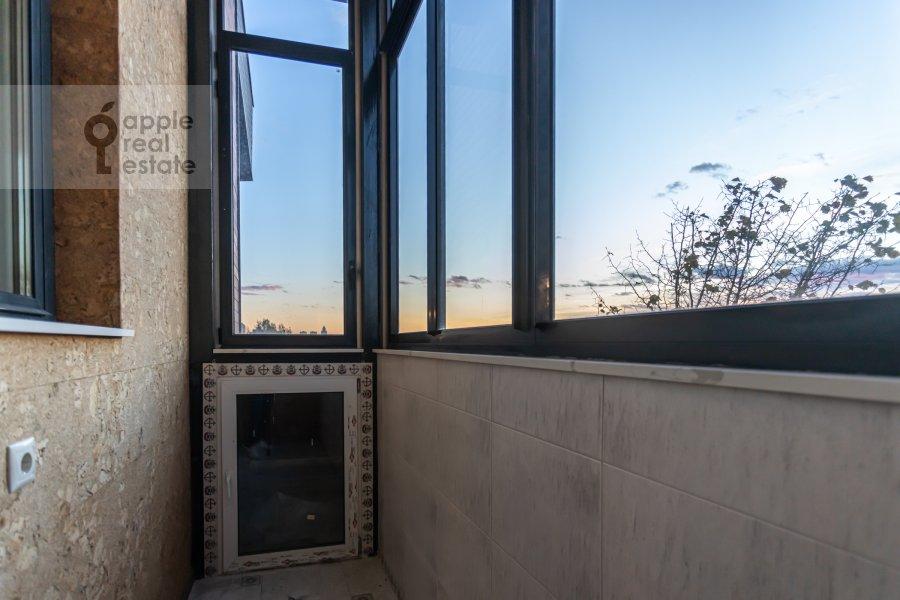 Balcony / Terrace / Loggia of the 6-room apartment at Shelepikhinskaya nab 34