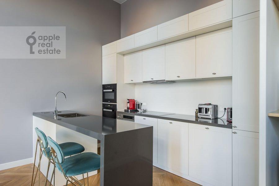 Kitchen of the 2-room apartment at Nikol'skaya ul., 10/2S2b