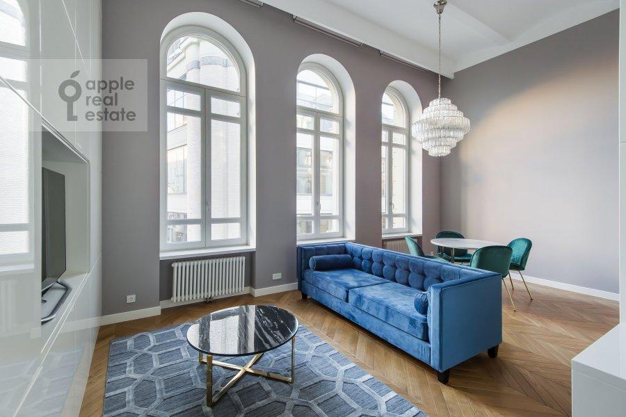 Living room of the 2-room apartment at Nikol'skaya ul., 10/2S2b