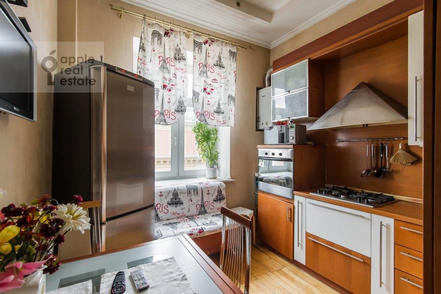Kitchen of the 3-room apartment at Bol'shaya Sadovaya ulitsa 3s1