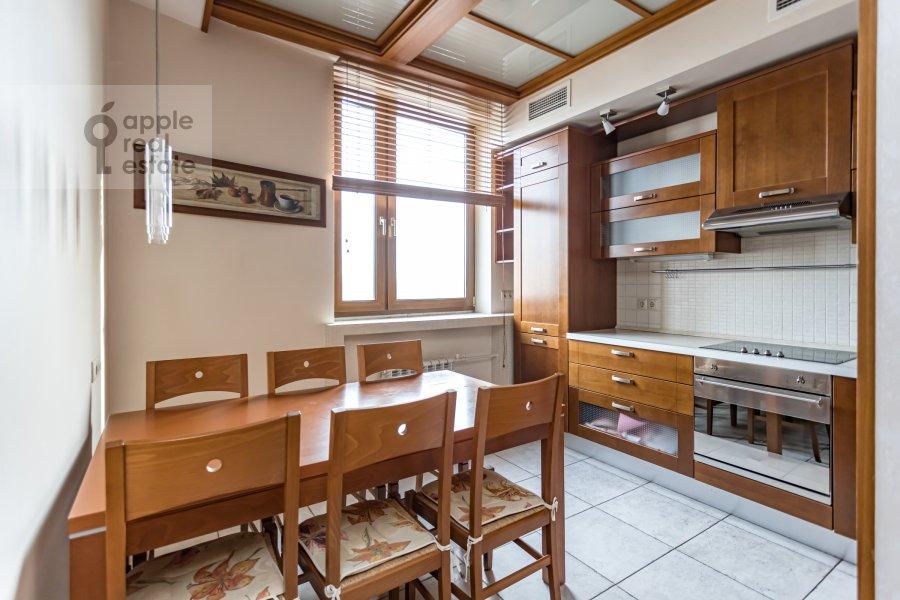 Kitchen of the 2-room apartment at Akademika Anokhina 2k2