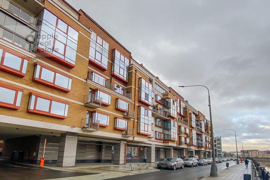 Photo of the house of the 3-room apartment at Ozerkovskaya naberezhnaya 26