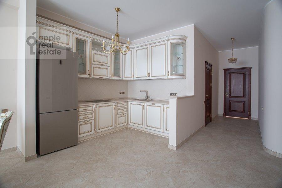 Kitchen of the 3-room apartment at Ozerkovskaya naberezhnaya 26
