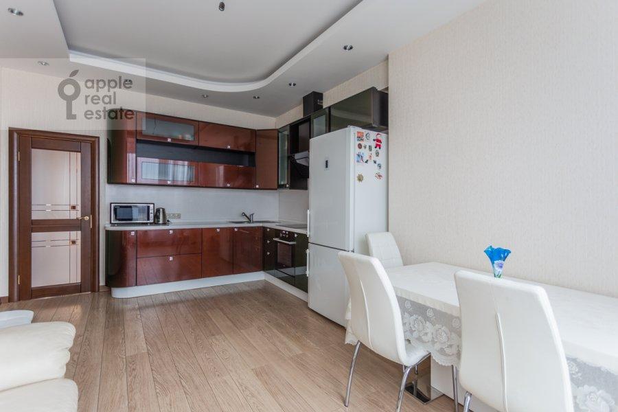 Кухня в 3-комнатной квартире по адресу Кочновский проезд 4к2