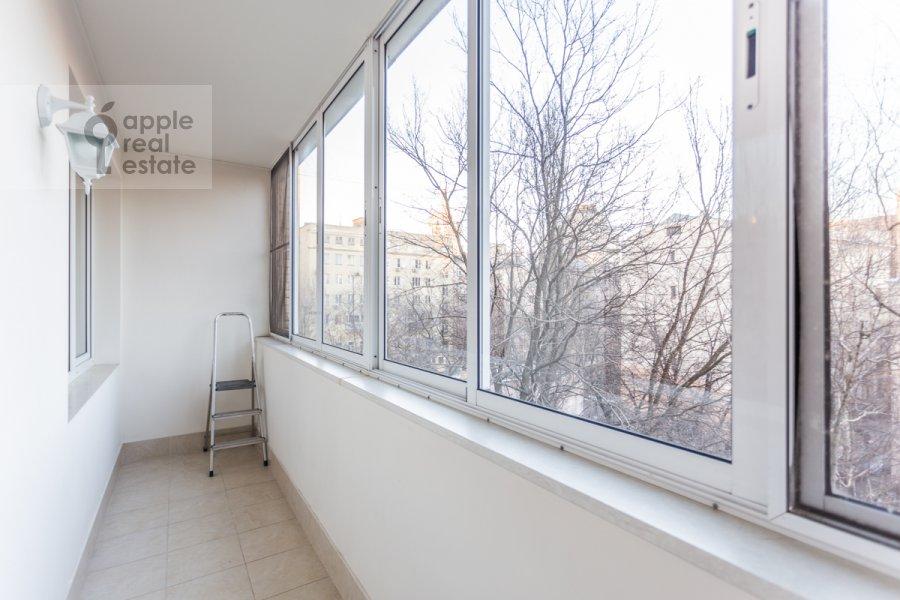 Балкон / Терраса / Лоджия в 3-комнатной квартире по адресу Воротниковский переулок 2/11