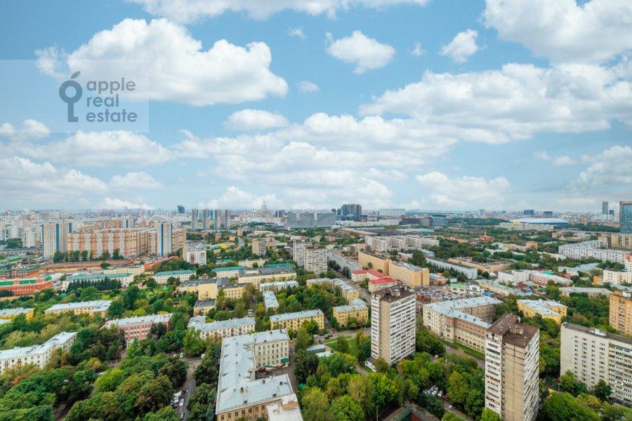 Вид из окна в 3-комнатной квартире по адресу Хорошевское шоссе 12к1