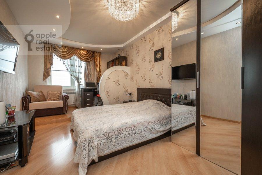 Спальня в 3-комнатной квартире по адресу Хорошевское шоссе 12к1