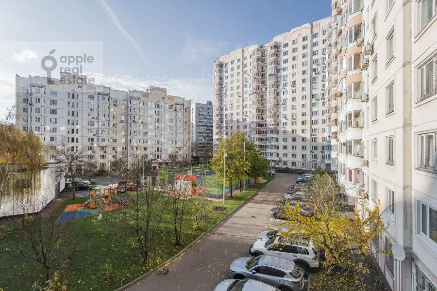 Вид из окна в 4-комнатной квартире по адресу Талалихина 1к3
