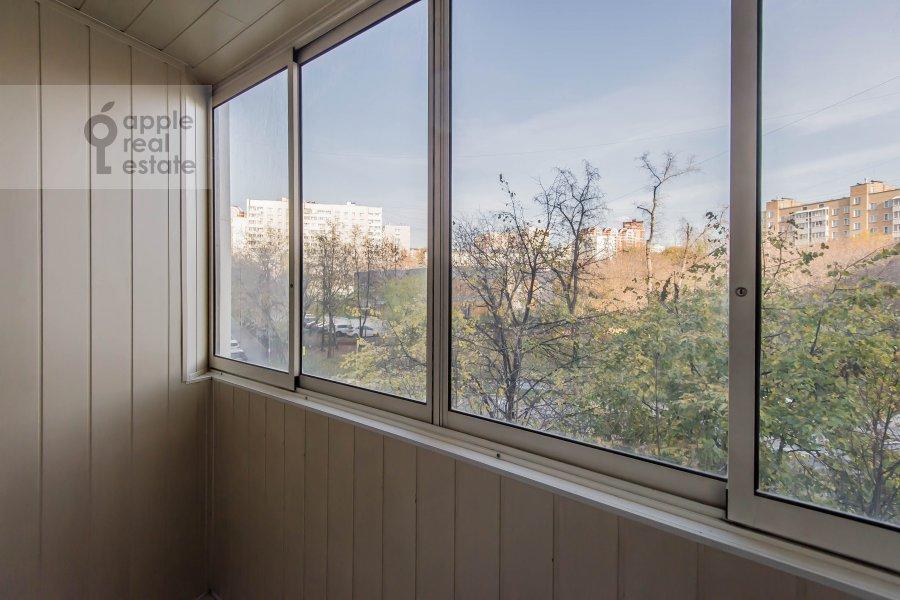 Балкон / Терраса / Лоджия в 4-комнатной квартире по адресу Талалихина 1к3