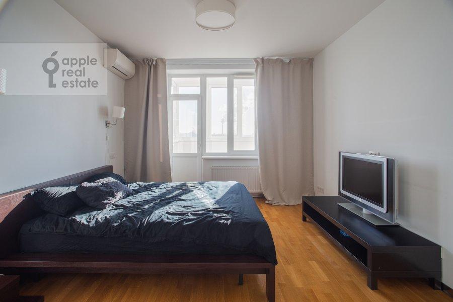 Спальня в 4-комнатной квартире по адресу Можайское ш 6