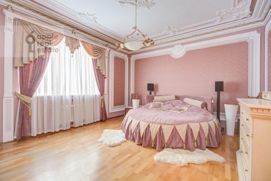 Спальня в 2-комнатной квартире по адресу Большая Полянка 28К2