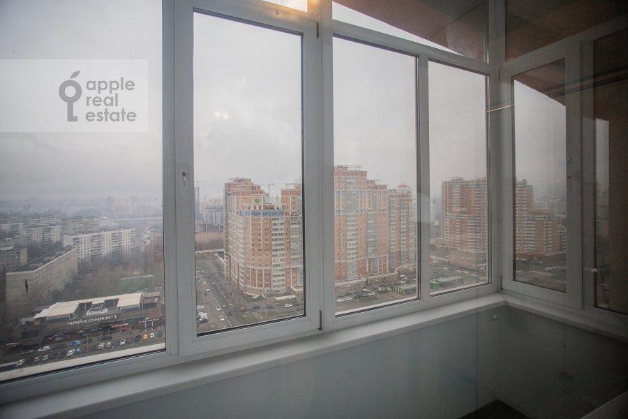Balcony / Terrace / Loggia of the 6-room apartment at Michurinskiy prospekt 29