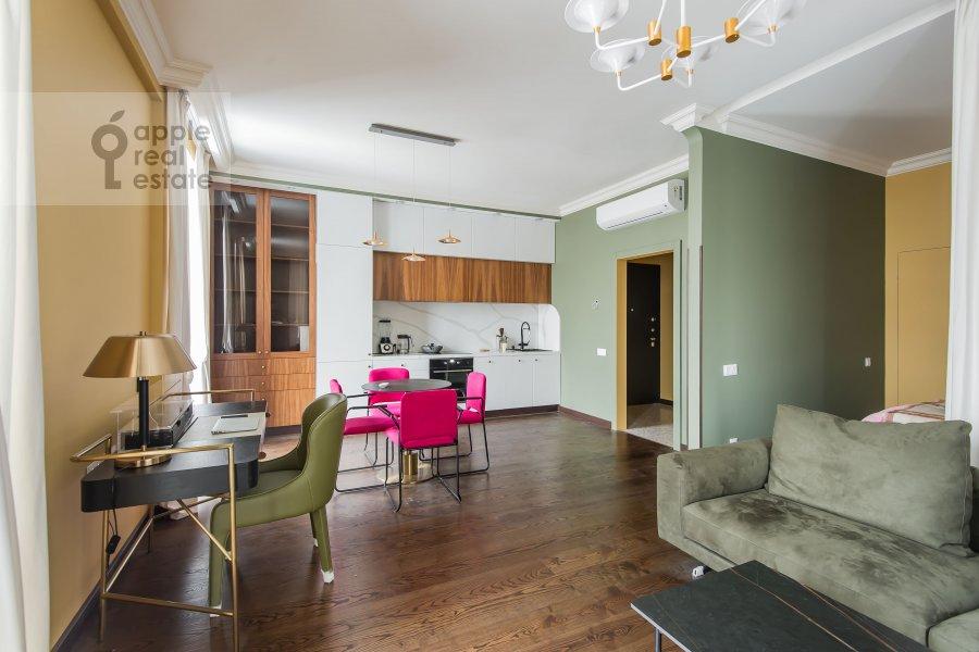 Гостиная в квартире-студии по адресу Ходынская ул 2