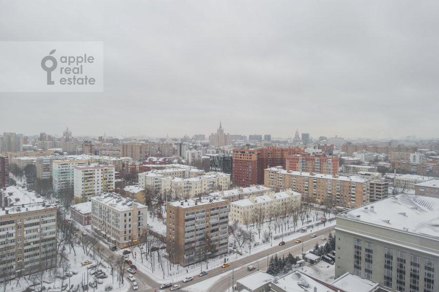Вид из окна в квартире-студии по адресу Ходынская ул 2