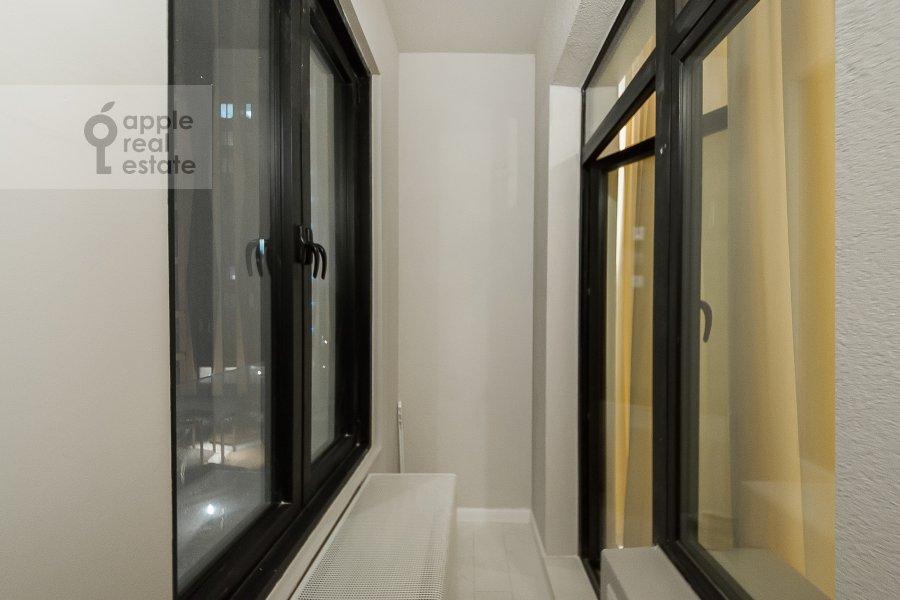 Balcony / Terrace / Loggia of the 3-room apartment at Leningradskiy prospekt 29k4