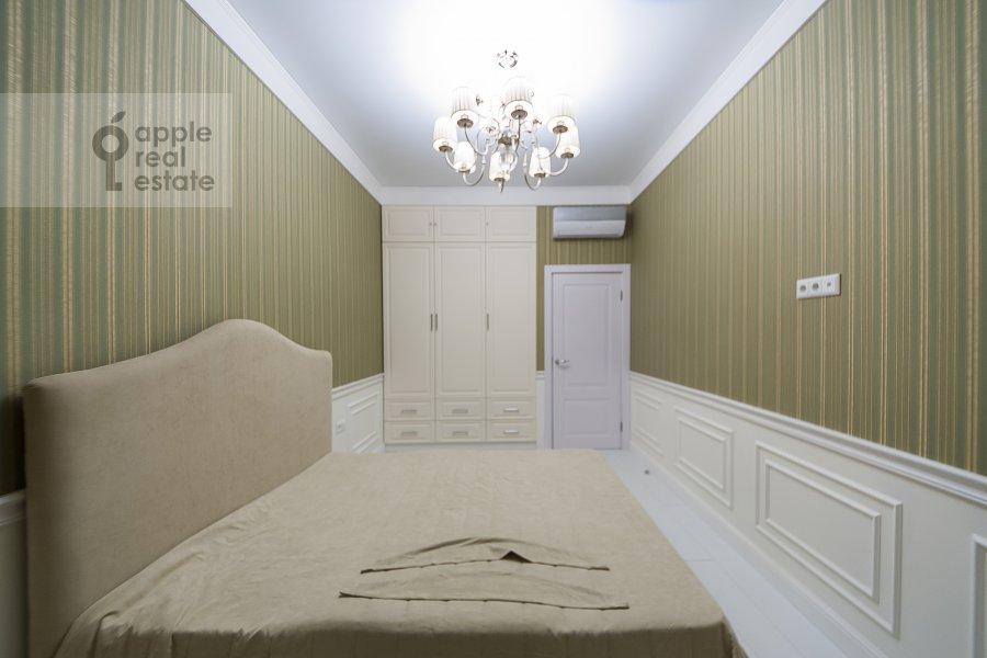 Bedroom of the 3-room apartment at Leningradskiy prospekt 29k4