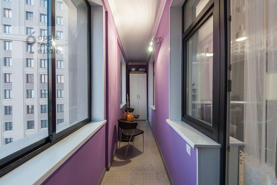 Балкон / Терраса / Лоджия в квартире-студии по адресу Берзарина 28а к1