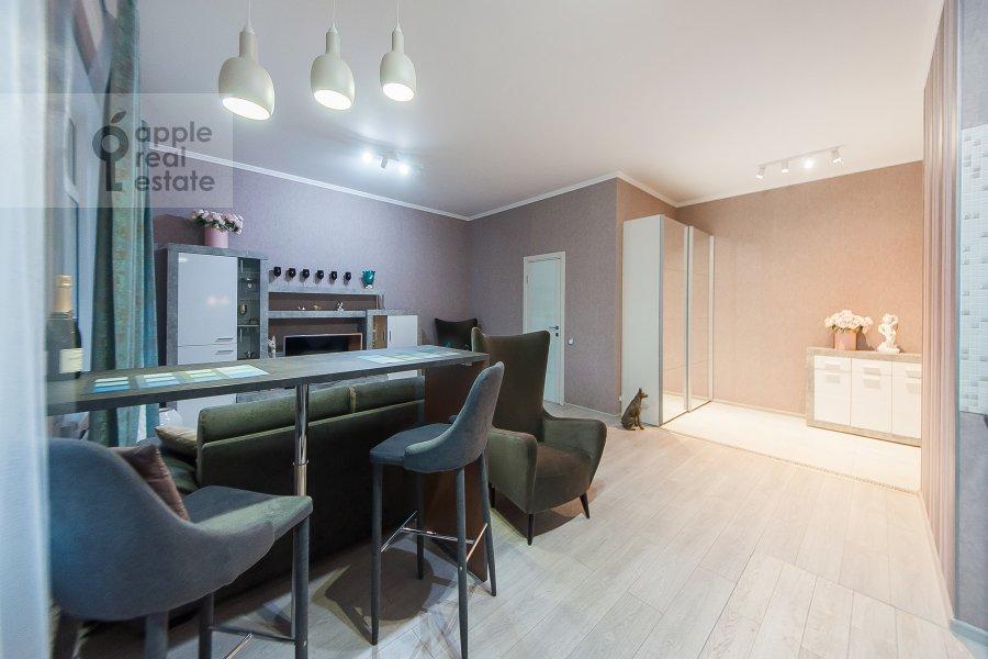 Кухня в квартире-студии по адресу Берзарина 28а к1