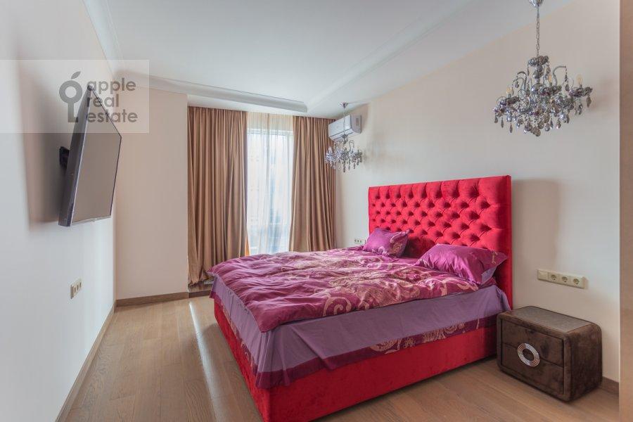 Bedroom of the 2-room apartment at Nezhinskaya ulitsa 1k3