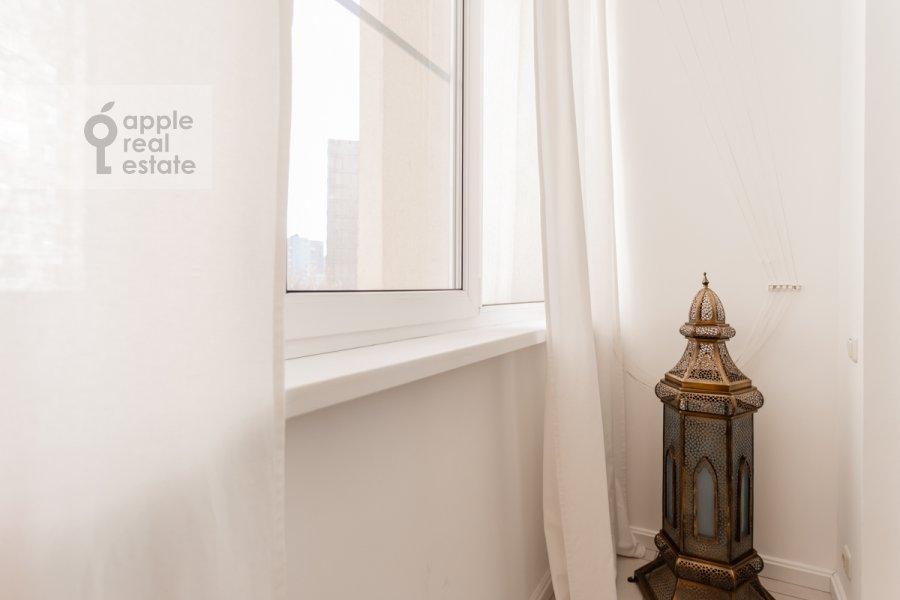 Balcony / Terrace / Loggia of the 2-room apartment at Grokhol'skiy pereulok 28