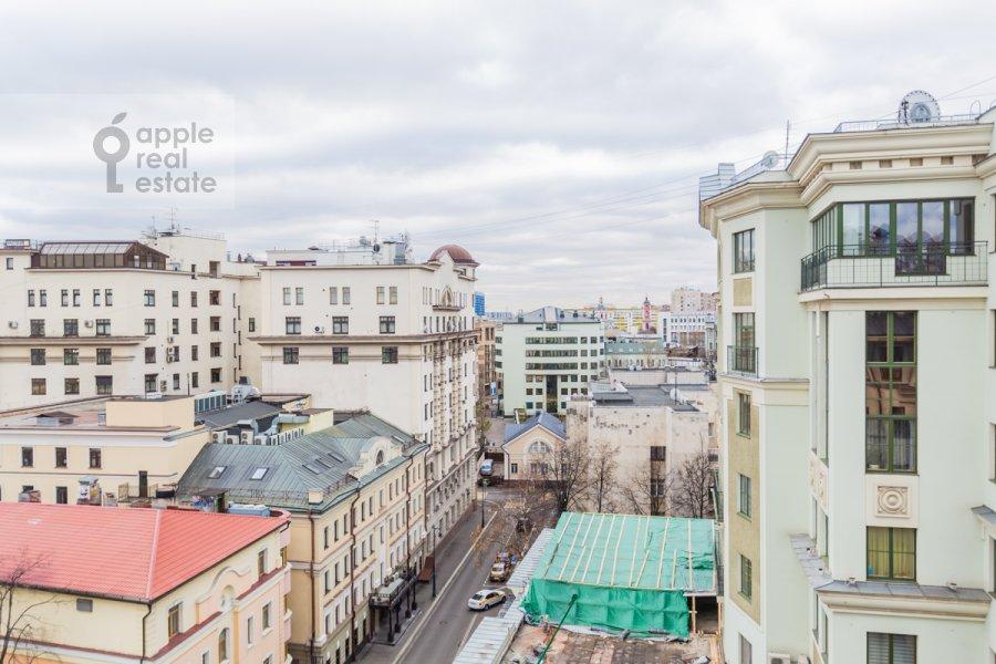 Вид из окна в 3-комнатной квартире по адресу 2-й Казачий переулок 4с1