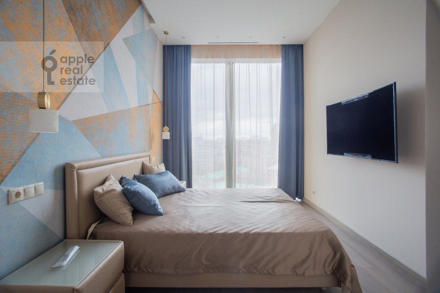Спальня в 2-комнатной квартире по адресу 1-й Красногвардейский проезд 22к2