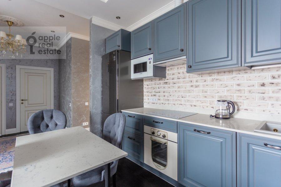 Кухня в 3-комнатной квартире по адресу Ходынская ул. 2