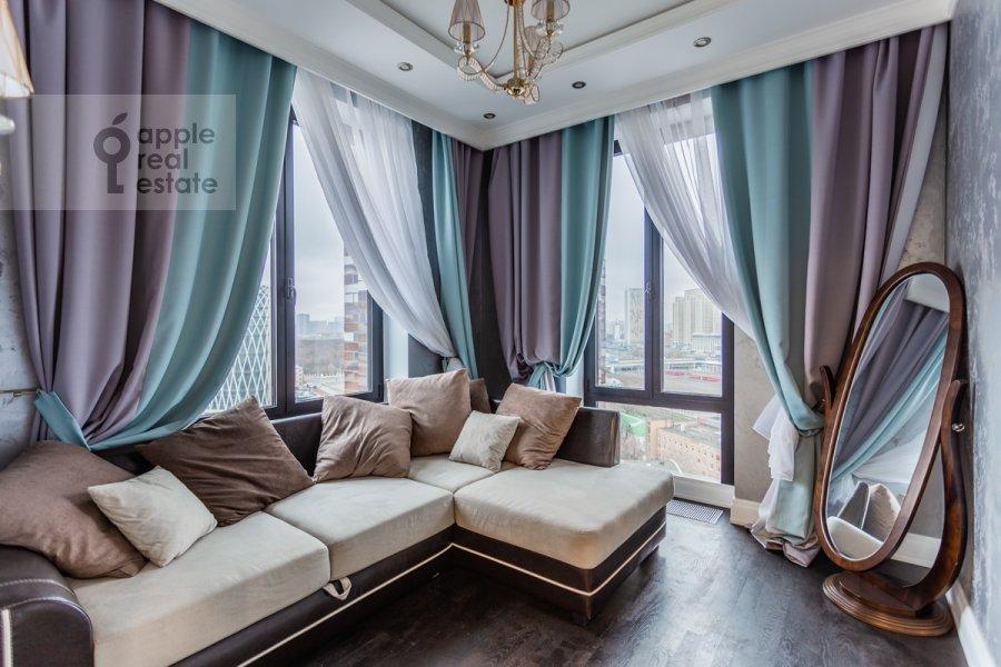 Детская комната / Кабинет в 3-комнатной квартире по адресу Ходынская ул. 2